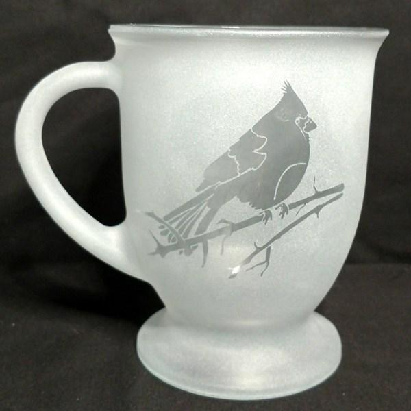 Engraved Coffee Mug Cardinal