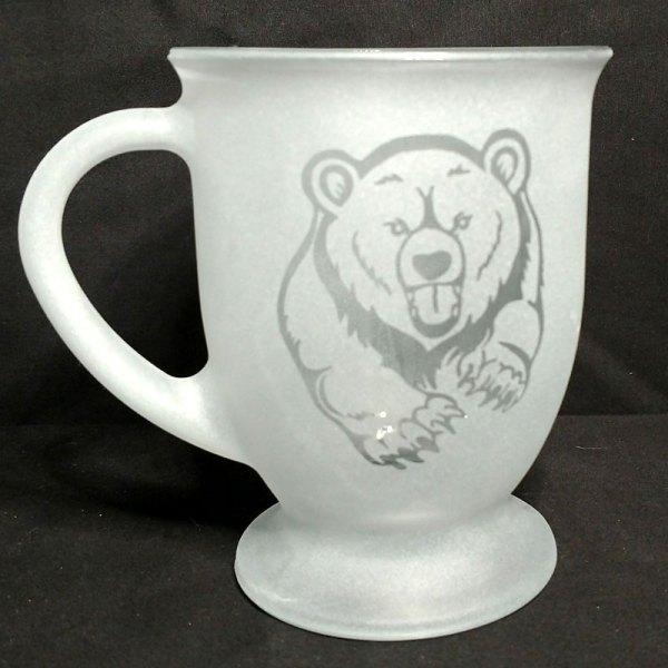 Engraved Coffee Mug Grizzly Bear