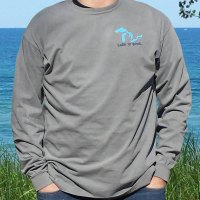 Mens Long Sleeve Lake Is Good Shirt