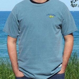 Mens Lake is Good T-Shirt
