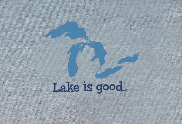 Lake Is Good Gray Great Lakes
