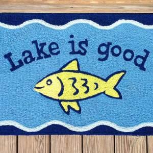 Lake Is Good Rug