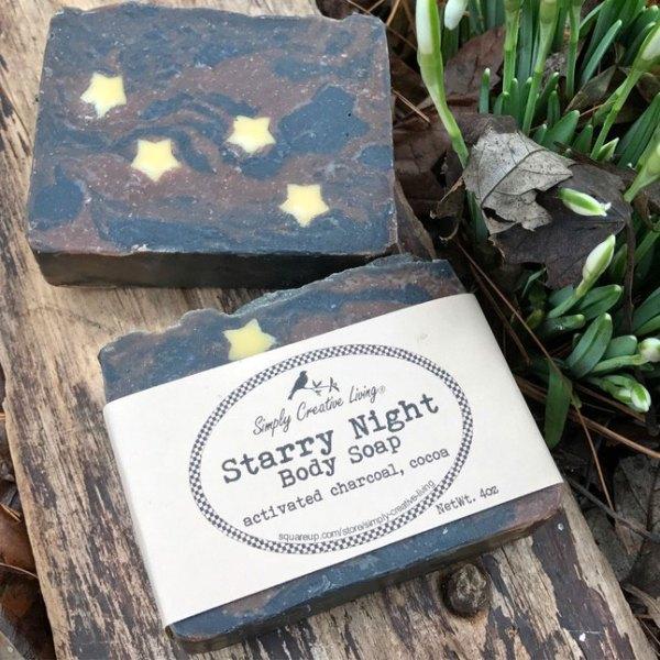 Starry Night Soap Bar