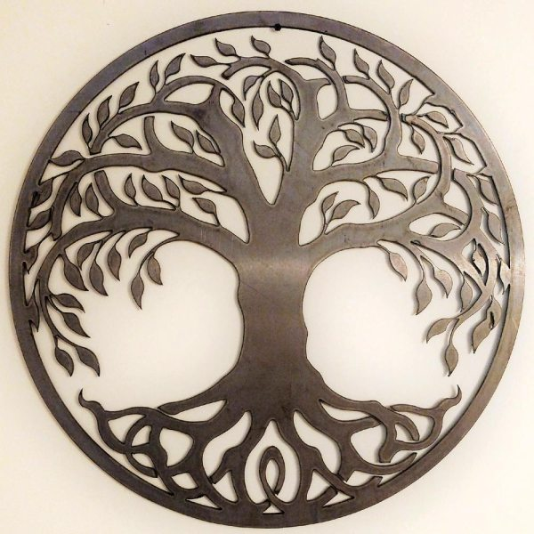 Tree of Life Metal Sign Unfinished