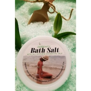 Serenity Bath Salts All Natural