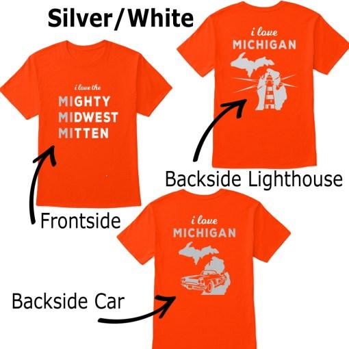 Mighty Midwest Michigan Tshirt