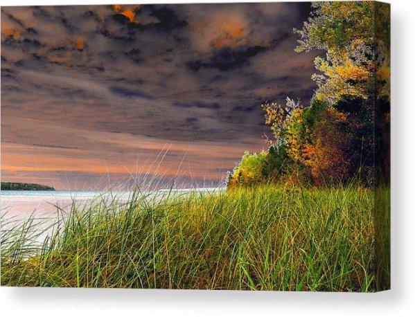 Fall On Lake Superior Canvas Print