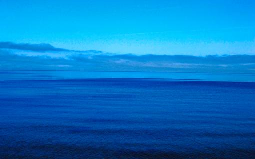 Blue Lake Superior Art