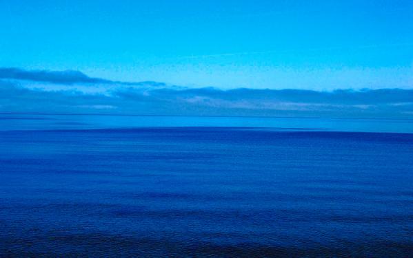 Blue Lake Superior Art