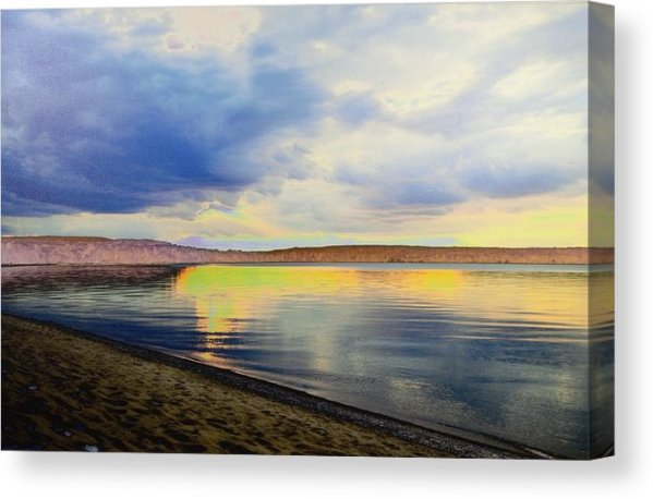 Lake Superior Sunset Canvas Print