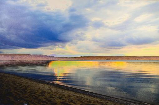 Lake Superior Sunset Art