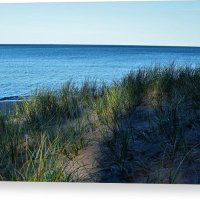 Shade On Lake Superior Canvas Print