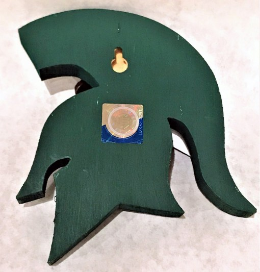 MSU Sparty Bottle Opener Back