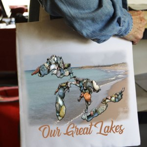 Michigan Tote Bag Our Great Lakes