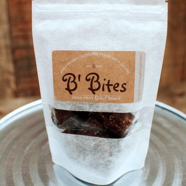 Almond Chocolate Coconut Energy Bites