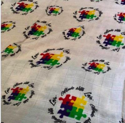 Autism Awareness Swaddle Blanket