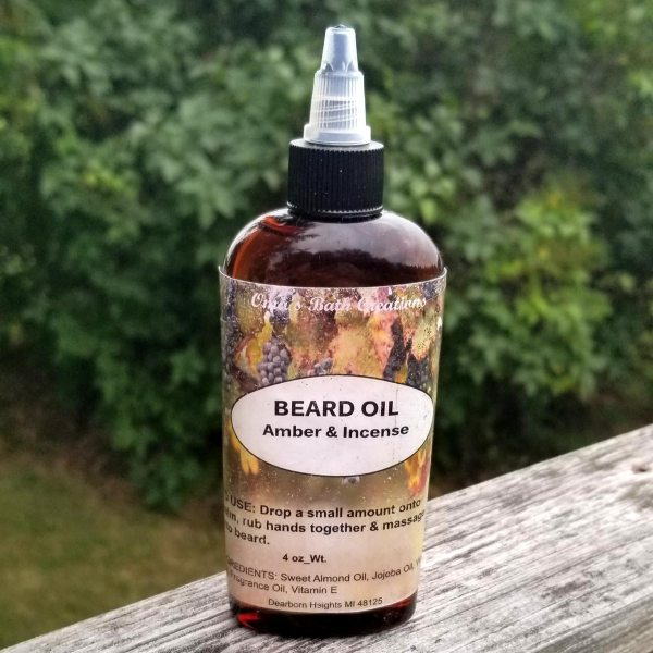 Beard Oil Amber & Incense