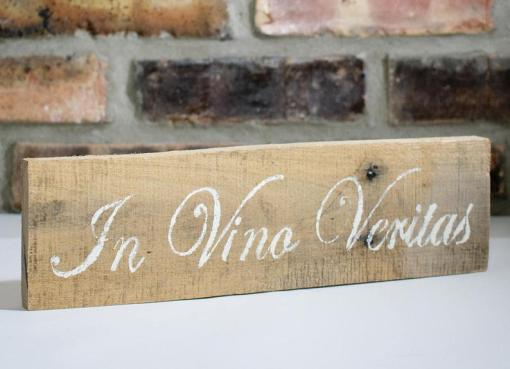 In Vino Veritas Sign