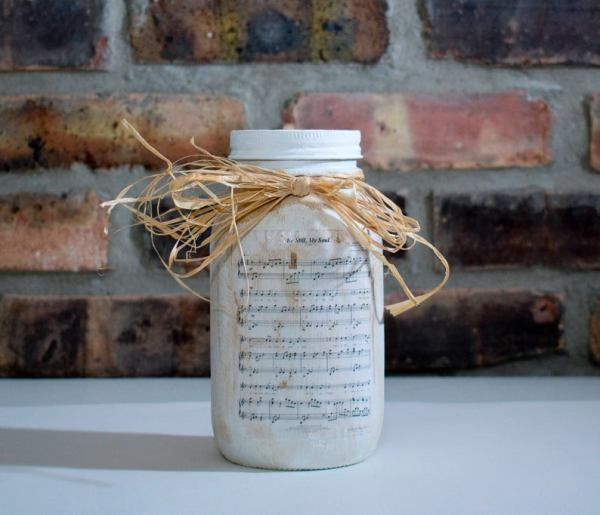 Sheet Music Jar
