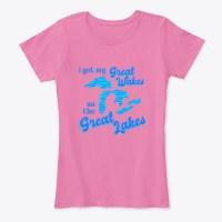 Great Wakes Great Lakes Ladies Tee
