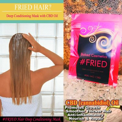 #FRIED Deep Conditioning Hair Mask