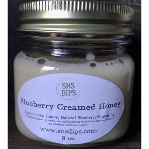 Blueberry Creamed Honey