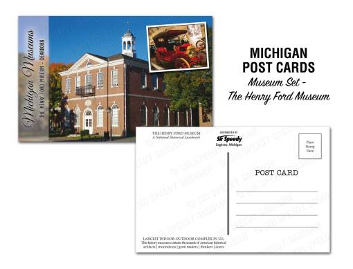 Henry Ford Museum Postcard