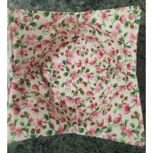 Reversible Pink Apple Blossoms Bowl Holder Cozy