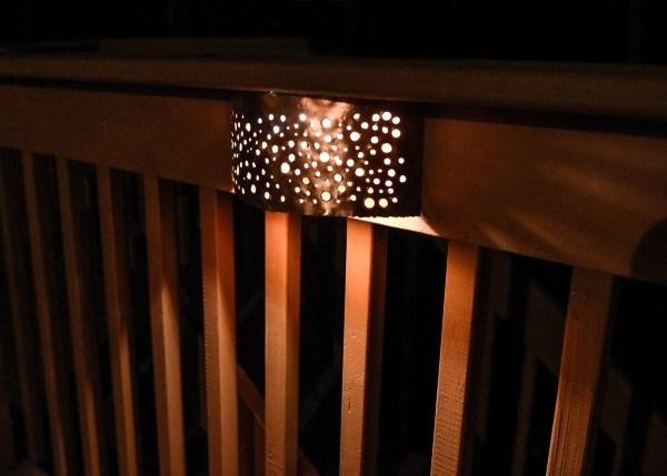 Copper Sconce Deck Light