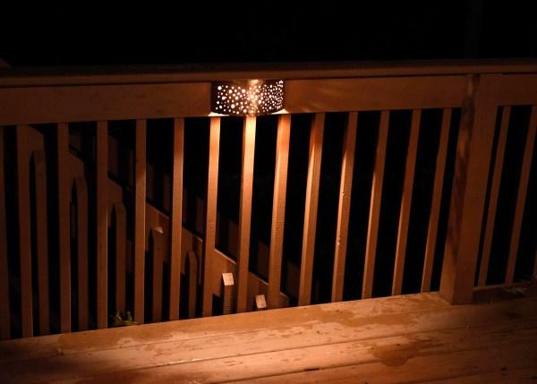 Copper Sconce LED Deck Light