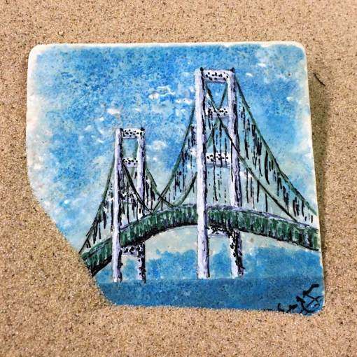 Mackinac Bridge Coaster