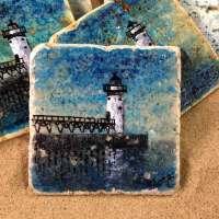 Manistee Lighthouse Coaster