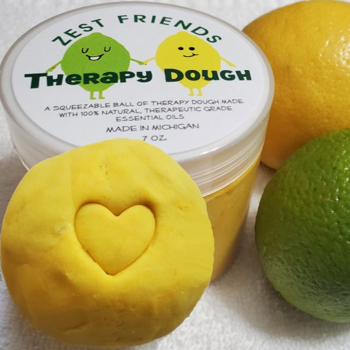 Anti-Bacterial Therapy Dough Essential Oils Squeezable Ball