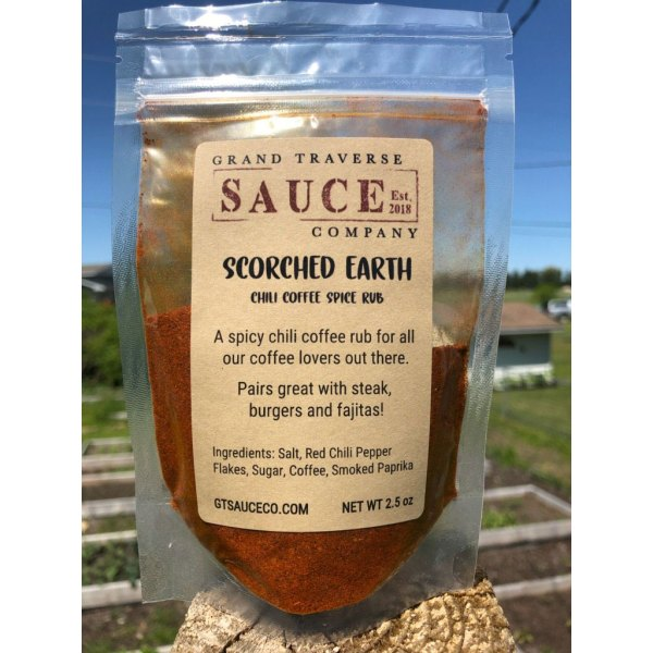 Scorched Earth Chili Coffee Spice Rub