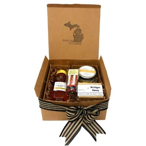 Michigan Bee Gift Set