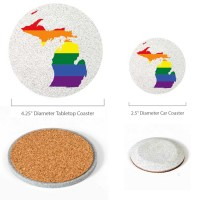 Michigan Pride Coasters