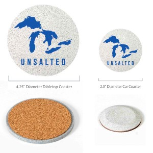 Great Lakes Unsalted Coasters