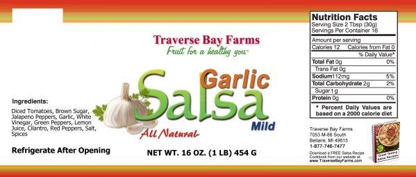 Garlic Salsa Ingredients