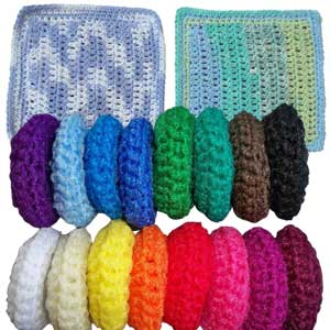 Wholesale SusieQ Scrubbies & Dishcloths