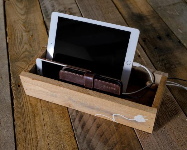 Rustic Charging Box