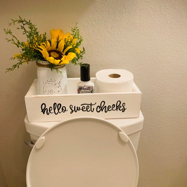hello sweet cheeks toilet paper tray