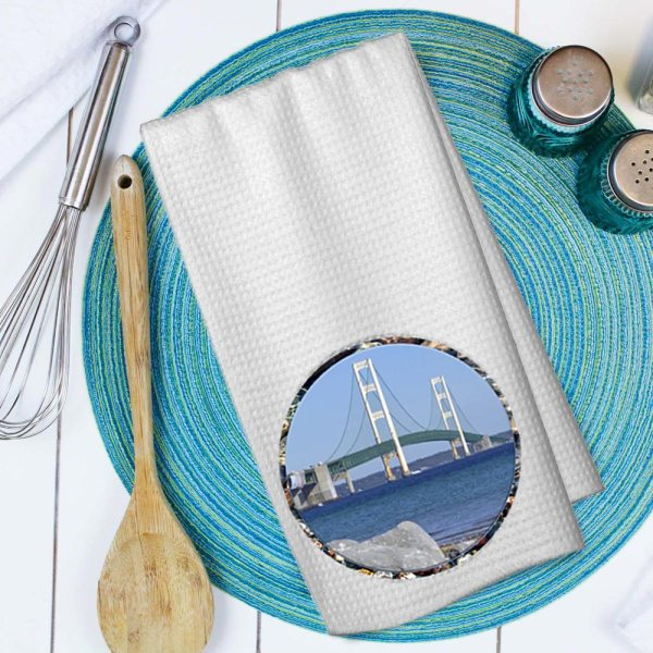 Mackinac Bridge Towel