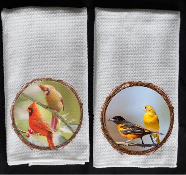cardinals towel orioles towel