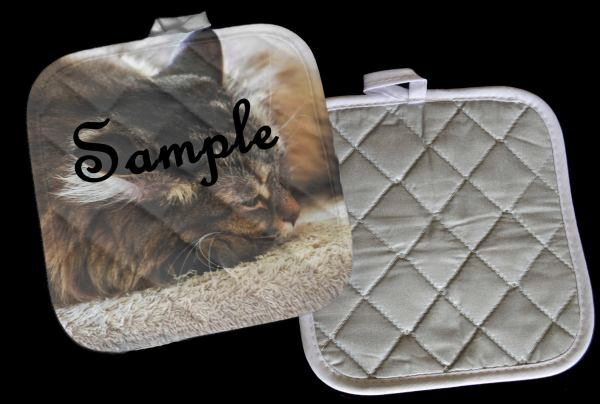 Sample Personalized Pot Holder Hot Pad