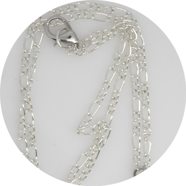 """18"""" silver chain with lobster claw"""