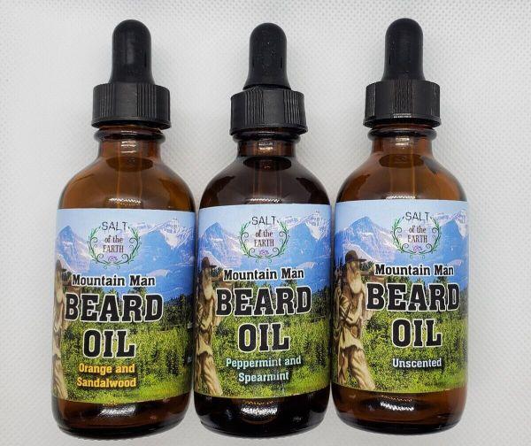 Mountain Man Beard Oil Fragrances