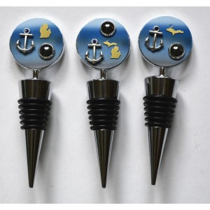 Nautical Bottle Stoppers Anchor Michigan