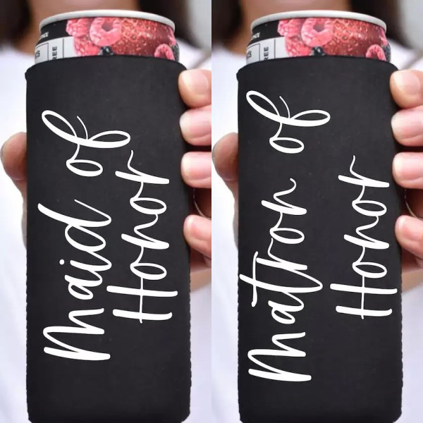 Personalize Slim Can Cooler Koozie2