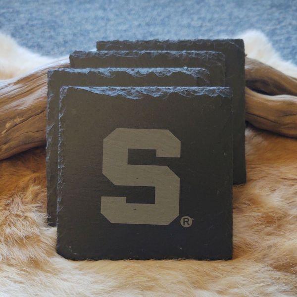 Spartan S Slate Coasters