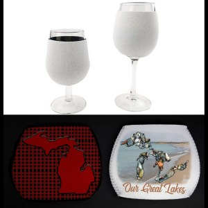Wine Glass Hugger Koozie Personalize